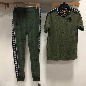 NWT 2pc set KAPPA Men's Suit L